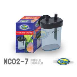 Aqua Nova plastik CO2 bobbel tæller