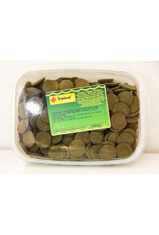 Alge Wafers m/6% spirulina 1000ml