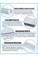 600mm LED skinne 10W