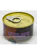 Konservert cyclops på dåse 100gr