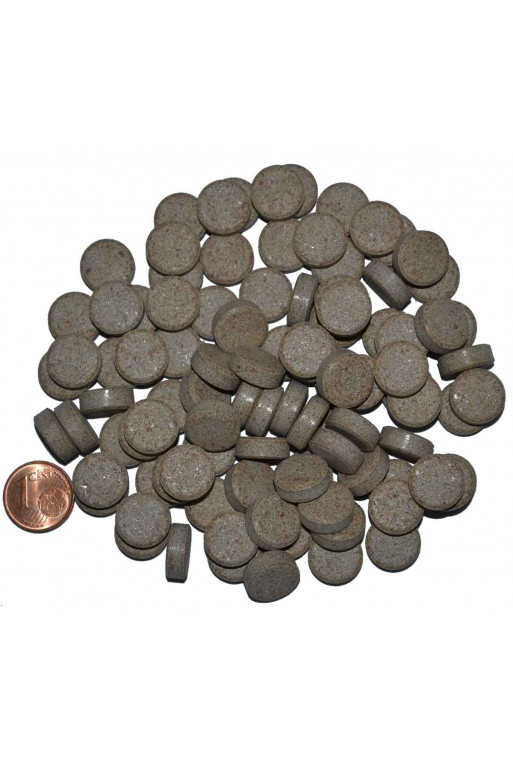 1000 gram Mallepille brun M insekter mini Ø8mm 5100piller