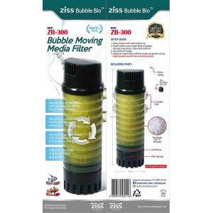 Ziss Bubble bio moving media luftfilter ZB-300