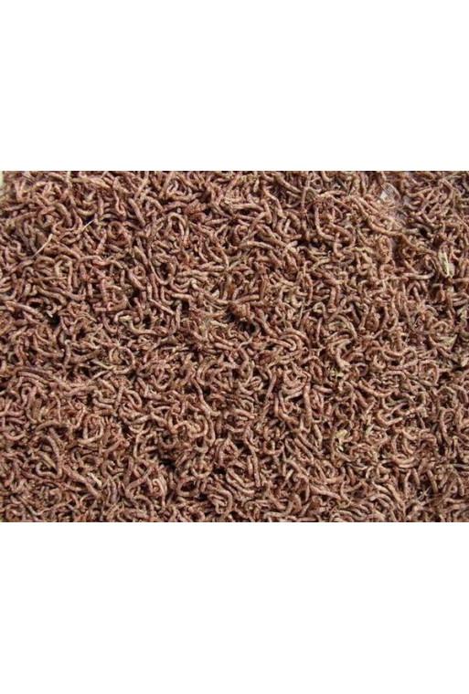 Frysetørrede Røde myggelarver 250ml