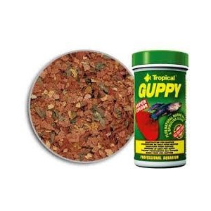 Tropical Guppy mix 150ml.