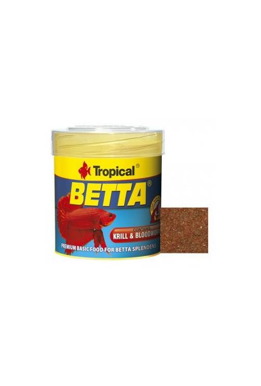 Tropical Betta/kampfisk mix 75ml.