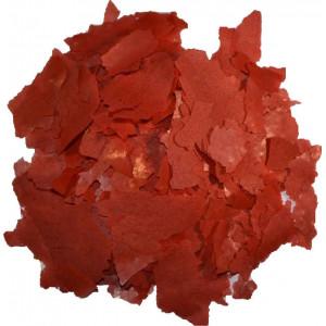 10kg/55liter Rødt farve flagefoder